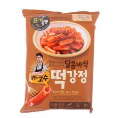 [메가마트] CJ 밀당의고수 달콤바삭 떡강정 421g