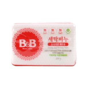 [메가마트] B&B_유아의류세탁용(카모마일)200g*3