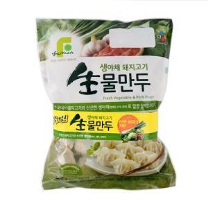 [메가마트] CJ)생야채돼지고기물만두400g*2개