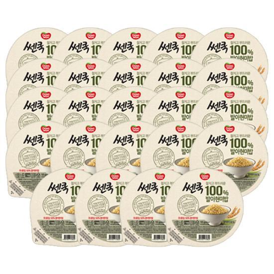 [동원] 쎈쿡 100% 발아현미밥 195g*24개입
