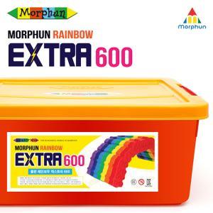 몰펀 레인보우 엑스트라 600+가이드북+로봇세트92피스