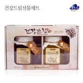 [영월농협] 동강마루 건강드림 벌꿀선물세트(아카시아꿀550gx1병+야생화꿀550gx1병)