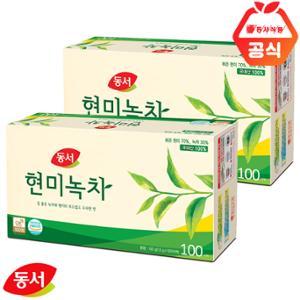 동서현미녹차200T(100TX2개입)