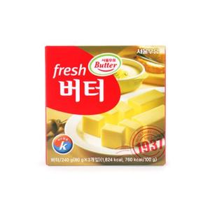 [메가마트] 서울)후레쉬버터240g