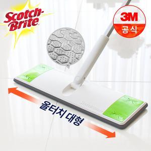 [3M]올터치 대형 막대걸레 기본세트(밀대+물걸레1매+정전기10매)