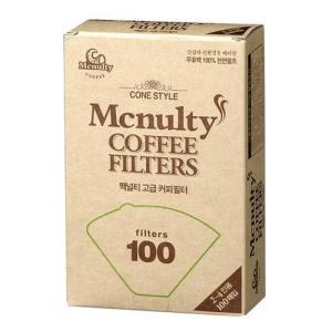 [메가마트] 맥널티 커피여과지 2~4인용100매