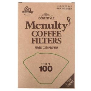 [메가마트] 맥널티 커피여과지 5~7인용100매