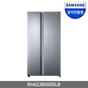 [삼성전자] 공식인증점 삼성 지펠 빌트인 푸드쇼케이스 RH62J8000SLB 620L 양문형 냉장고