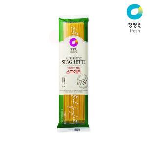 [청정원] 스파게티면 500g