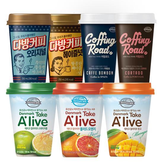 덴마크 음료 & 커피 7종 12개 무료배송