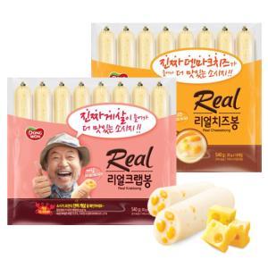 [동원] 리얼 크랩봉 540g+치즈봉 540g