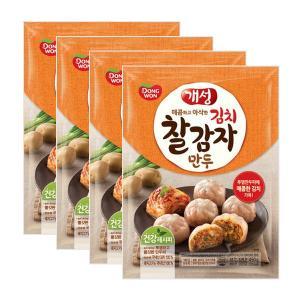 [동원] 개성 김치찰감자만두 450gx4봉