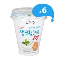 [동원] 소와나무 생크림 요거트 Big 400g*6개