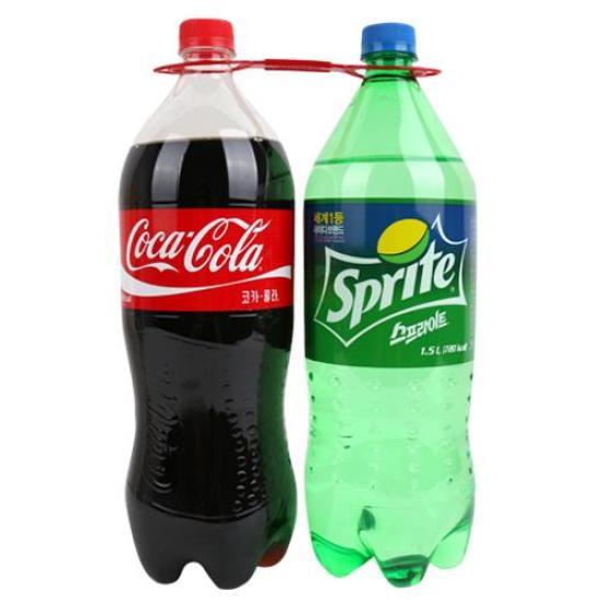 [메가마트] 코카콜라+스프라이트 1.5L*2개