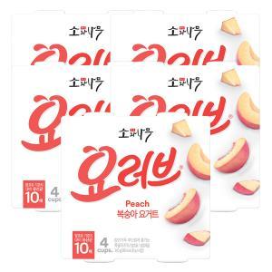 [동원] 소와나무 요러브 복숭아요거트 85g*20개