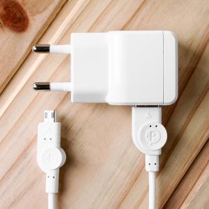 실속형 마이크로 5핀 USB 스마트폰 충전기(분리형)