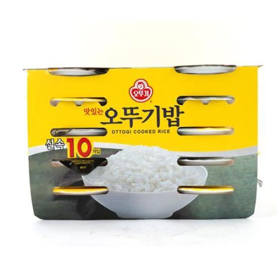 [메가마트] 오뚜기밥 10입 210g*10