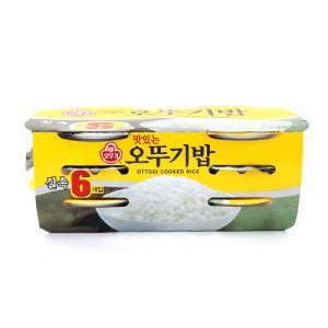 [메가마트] 오뚜기밥 210g*6개