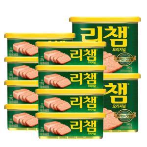 [동원] 리챔 120g*8캔+리챔 오리지날 340g*2캔