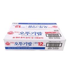 [메가마트] 오뚜기밥 210g*12입 /인당구매한정2개