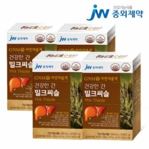 GNM자연의품격 건강한 간 밀크씨슬 4박스