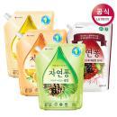 [LG생활건강] 자연퐁 주방세제 리필 1.4kgx3개 (총 4.2kg) / 솔잎 오렌지 쌀뜨물 와인식초 택 1
