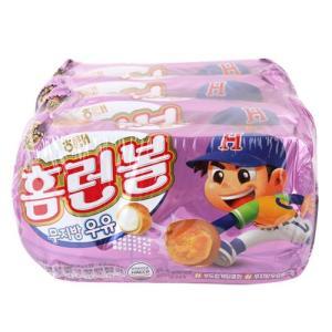 [메가마트] 해태)홈런볼무지방우유46g*4