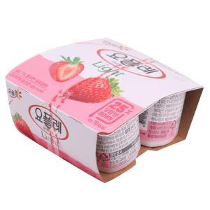 [메가마트] 빙)요플레 딸기라이트멀티80g*4