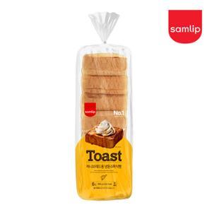 삼립 냉동 허니브레드용 6쪽 식빵 (1000g/1봉)x4봉