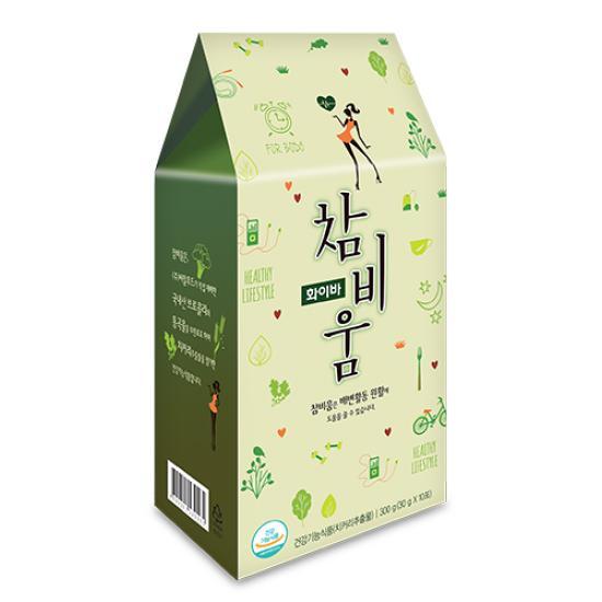 [쾌변의 시작] 참비움 30g x 10포 식이섬유 브로컬리 치커리추출물 함유 건강기능식품