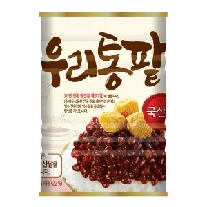[대두식품] 우리통팥 850g(캔) /빙수팥 / 국내산팥