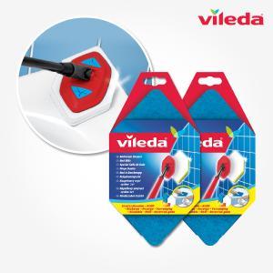 [바이레다]바스매직 길이조절 욕실청소 스펀지 전용리필 2개세트