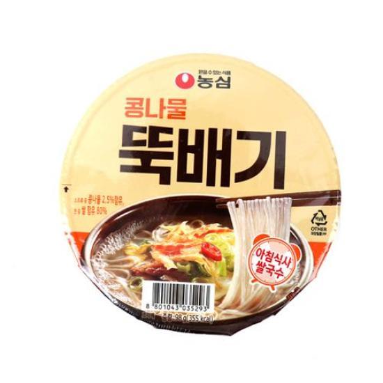 [메가마트] 농심 콩나물 뚝배기 93g