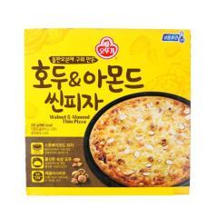 [메가마트] 오뚜기 호두&아몬드 씬 피자 316g /한정수량 3개