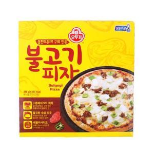 [메가마트] 오뚜기 불고기 피자 396g