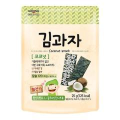 [메가마트] 일동후디스 아기밀냠냠 우리아이 김과자 코코넛 25g