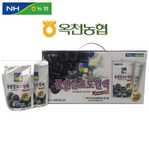 [옥천농협] 꿈엔들 포도원액 120ml*40봉