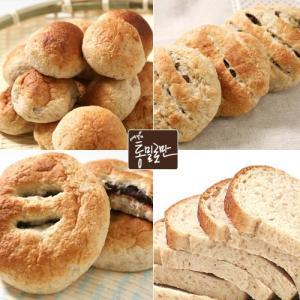 통밀로만 호밀빵 골라담기(모닝빵,식빵,견과빵,단팥빵)