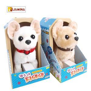 [자미나] 왕눈이치와와 움직이는 강아지인형