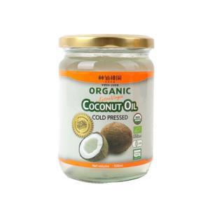 [메가마트] 신선도원유기농코코넛오일(엑스트라 버진)500ml