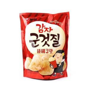 [메가마트] 농심)감자군것질 바베큐맛70g