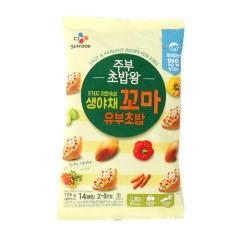 [메가마트] CJ 주부초밥왕 생야채 꼬마 유부초밥 175g