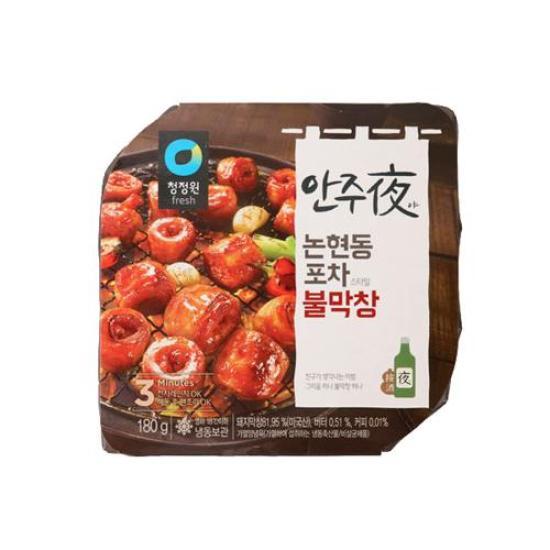 [메가마트] 청정원 안주夜 논현동 포차스타일 불막창 180g