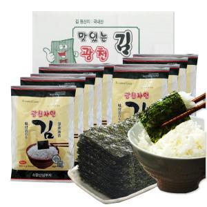 [맛있는 광천김] 광천 재래전장김 총 9봉 (25gx9봉)