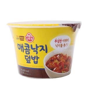 [메가마트] 컵밥 매콤낙지덮밥250G