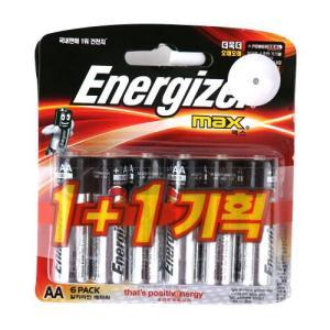 [메가마트] 에너자이저 건전지AA6+6AA6+6