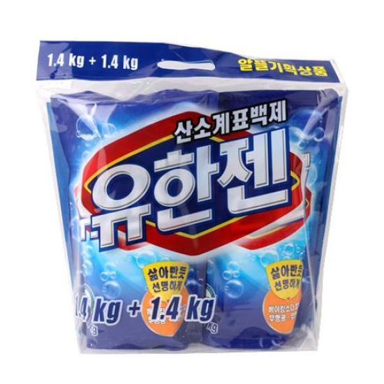 [메가마트] 유한젠 표백제 1.4kg+1.4kg