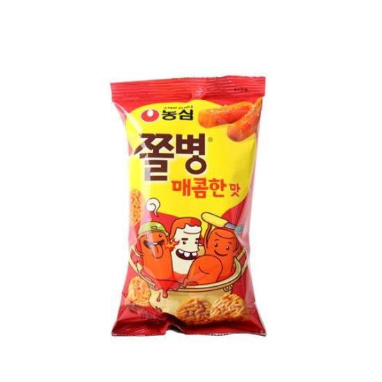 [메가마트] 농심 쫄병스낵 매콤한맛 90g
