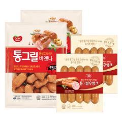 [동원] 통그릴4봉(비엔나360gx2봉+후랑크 300gx2봉)
