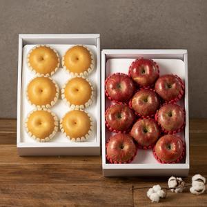[1+1] 사과선물세트 2.4kg (9과이내)+나주신고배 선물세트 3.5kg (7과이내)